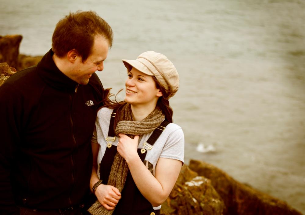 10.03.2012 Aberdour, Fife, Scotland.