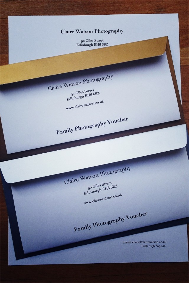 2 christmas family photography voucher
